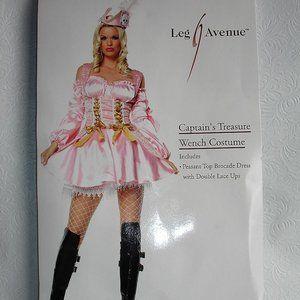 Leg Avenue Captain's Treasure Wench Costume w/stoc